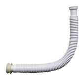 "Toilet Cistern Flexible European 2"" Flush Pipe - 08000706"